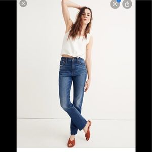 Madewell High-rise Slim Boy Jean